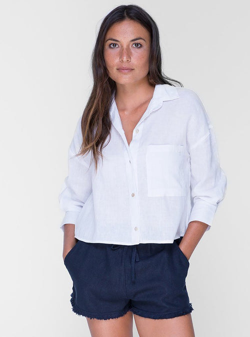 Sally Blouse - White