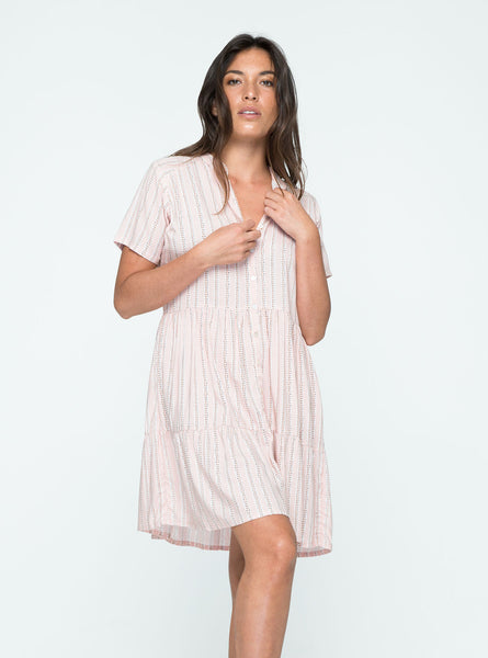 Sun Mini Dress - Taffy