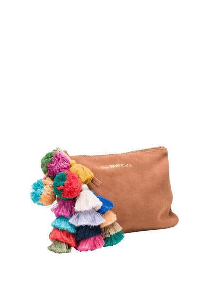 Bedouin Clutch - Terracotta