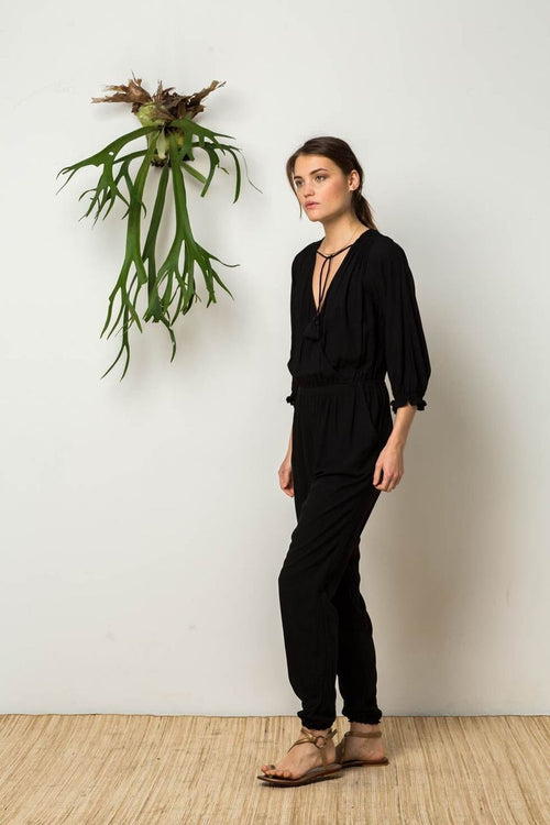 Wildside Jumpsuit in Black