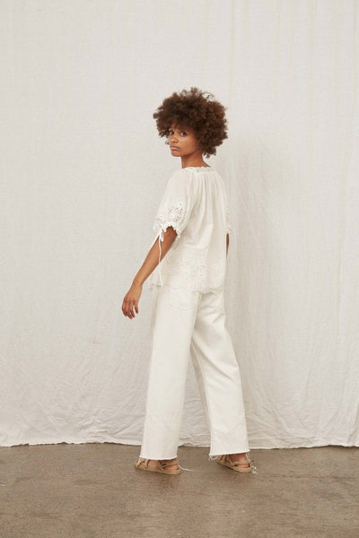 Sampson Blouse - White