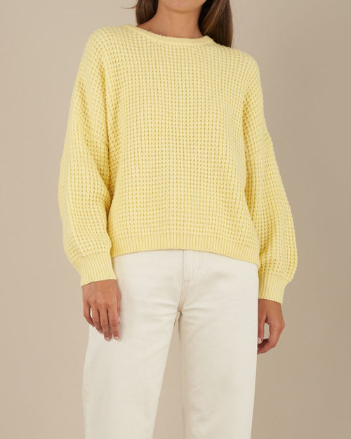 Anja Knit - Lemon