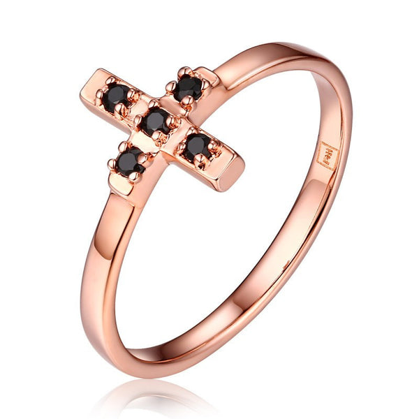 The 'Jagger' Cross Ring