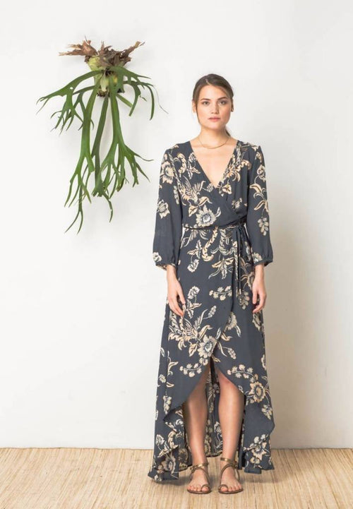 Alchemy Dress in Wilderness Print