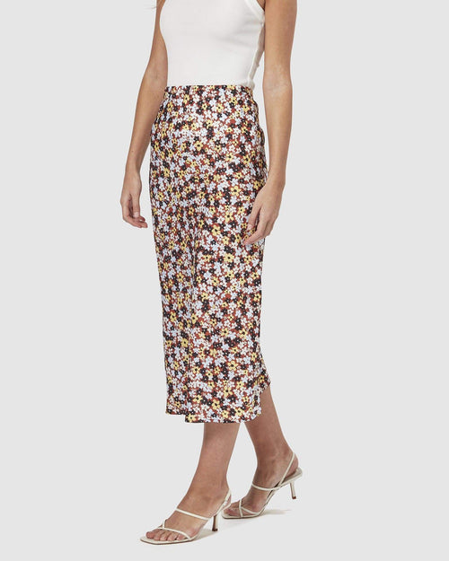 Bella Midi Slip Skirt