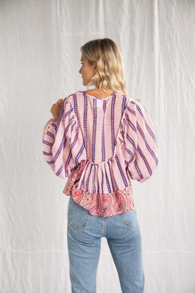 The Marrakech Tribal Blouse