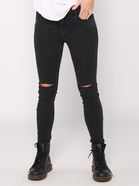 Destroy Dreamer Jean in Faded Black