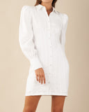 Emmie Mini Shirt Dress