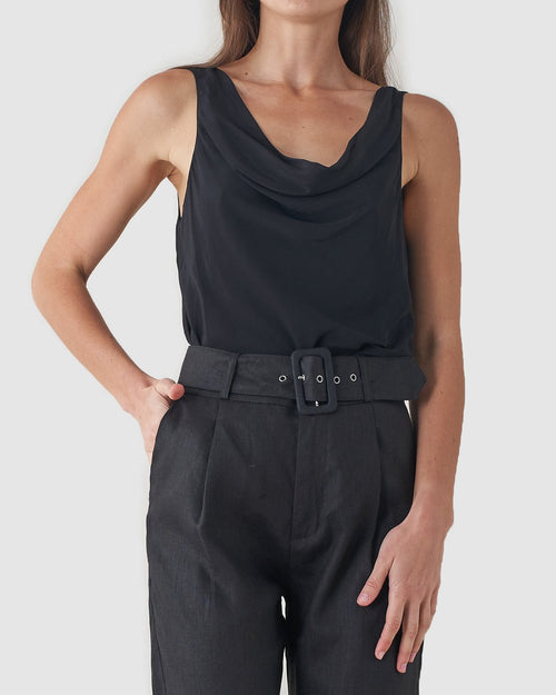 Allora Top - Black