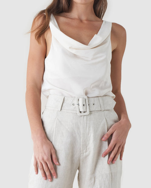 Allora Top - White