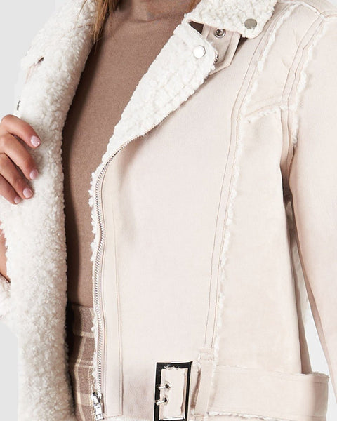 Wyatt Jacket - Cream