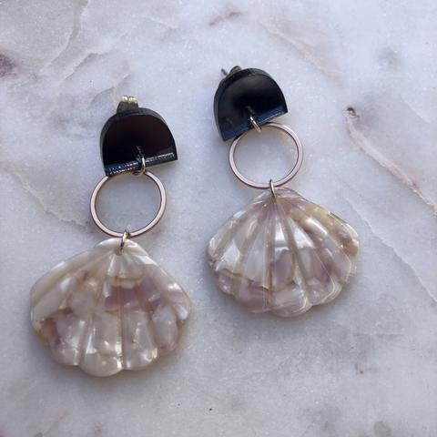 Rose Gold Shells