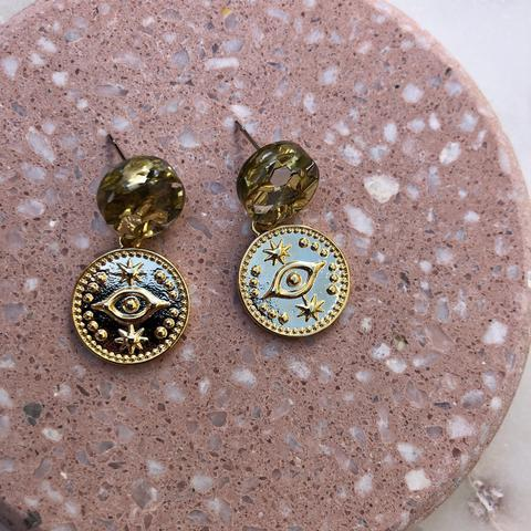 Gold Eye Charms
