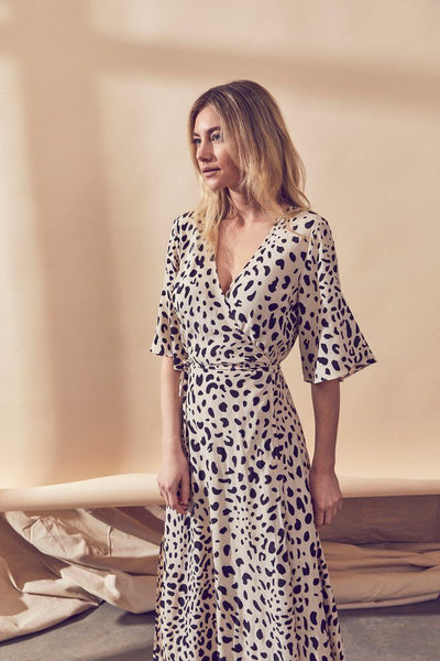 Cove Wrap Midi Dress