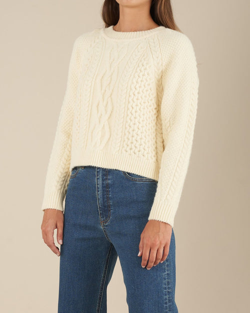 Marlee Knit - Cream