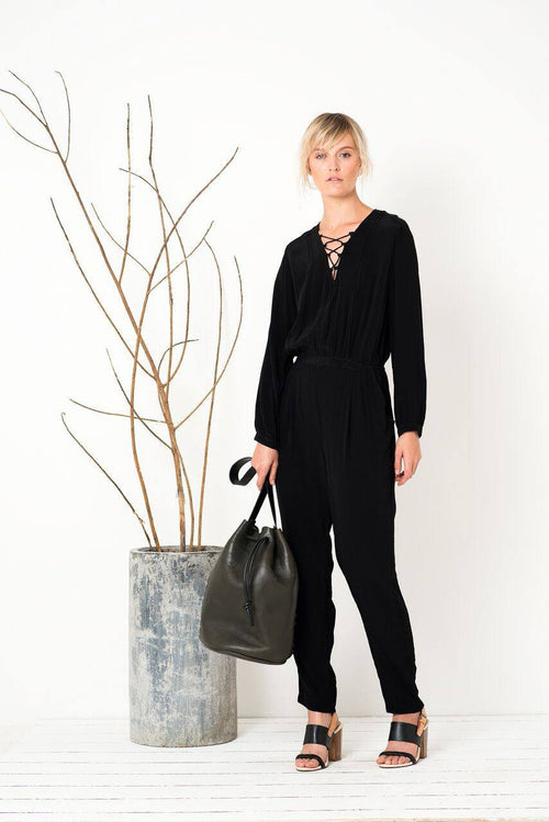 Skyfall Jumpsuit in Black