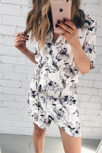 Aubrey Drape Dress