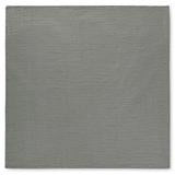 MODERN BURLAP Organic Cotton Muslin Blanket NEUTRAL GREY