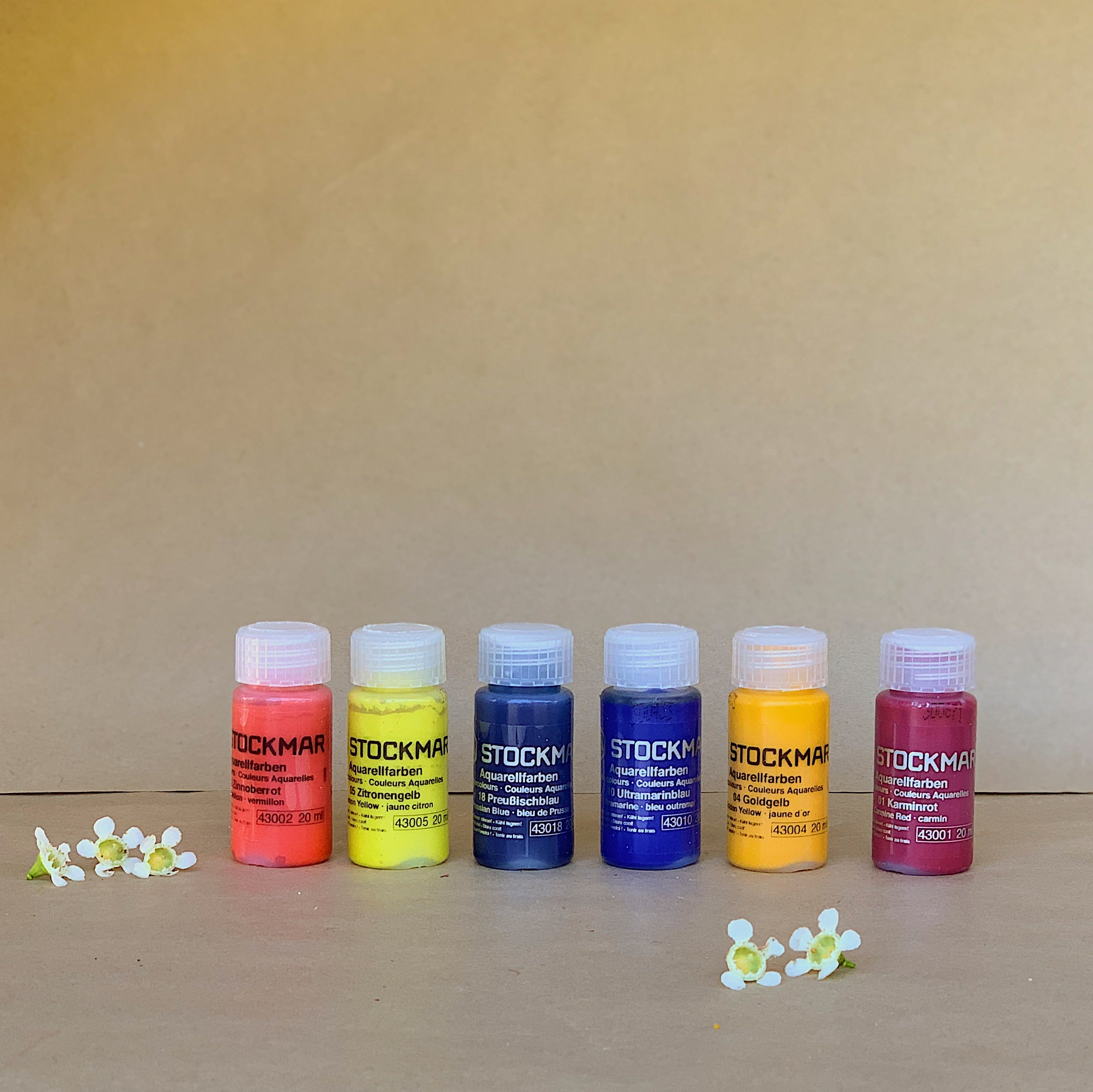 STOCKMAR | Watercolour Paints | Set of 6