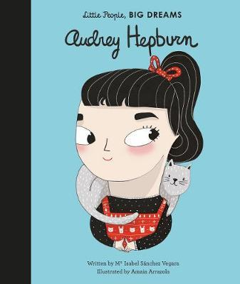 LITTLE PEOPLE, BIG DREAMS Book Audrey Hepburn