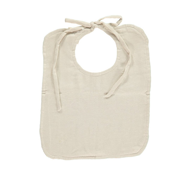 CAMOMILE LONDON | Set of 2 Reversible Muslin Bibs | Minako Golden