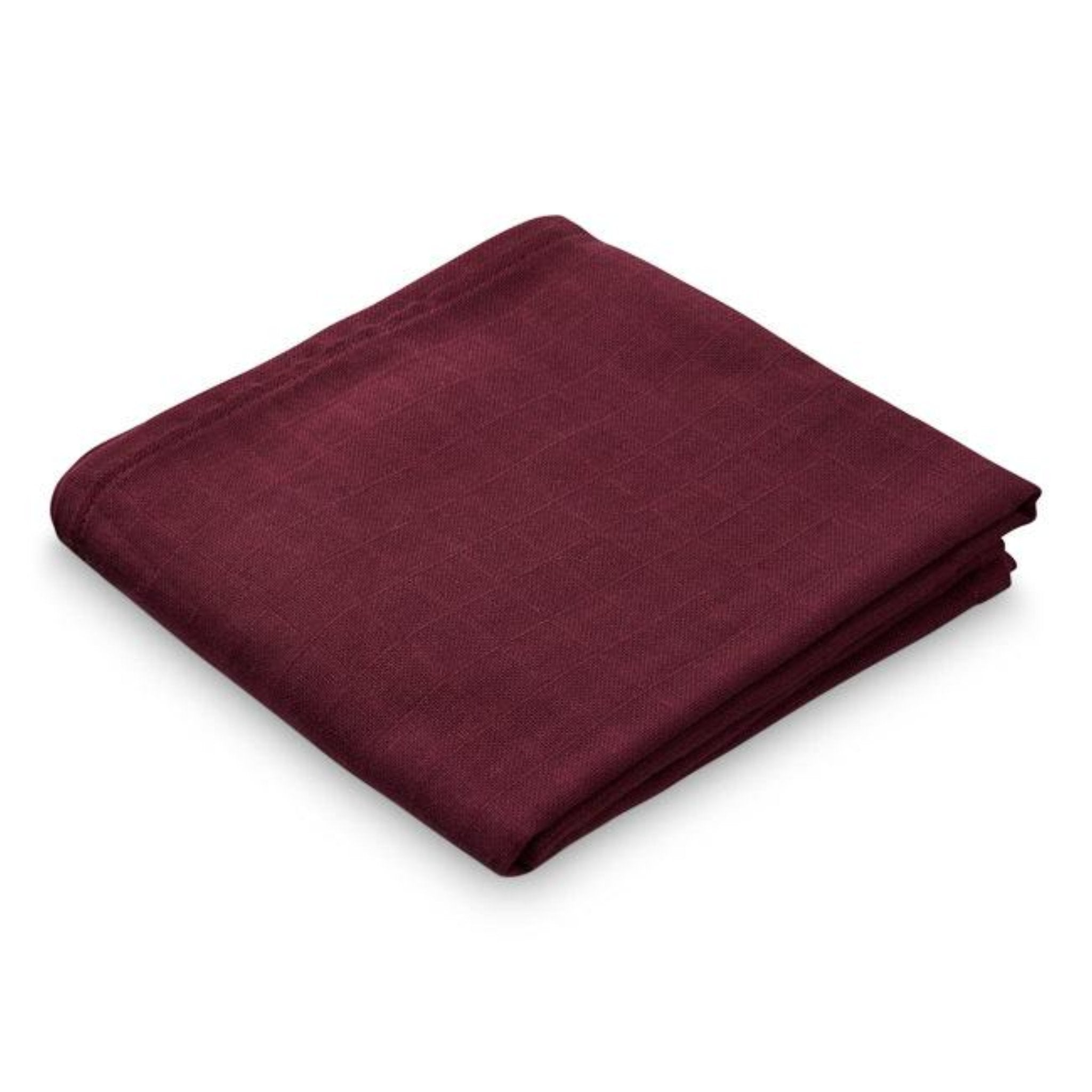 CAM CAM COPENHAGAN | Organic Muslin Cloth | Bordeaux