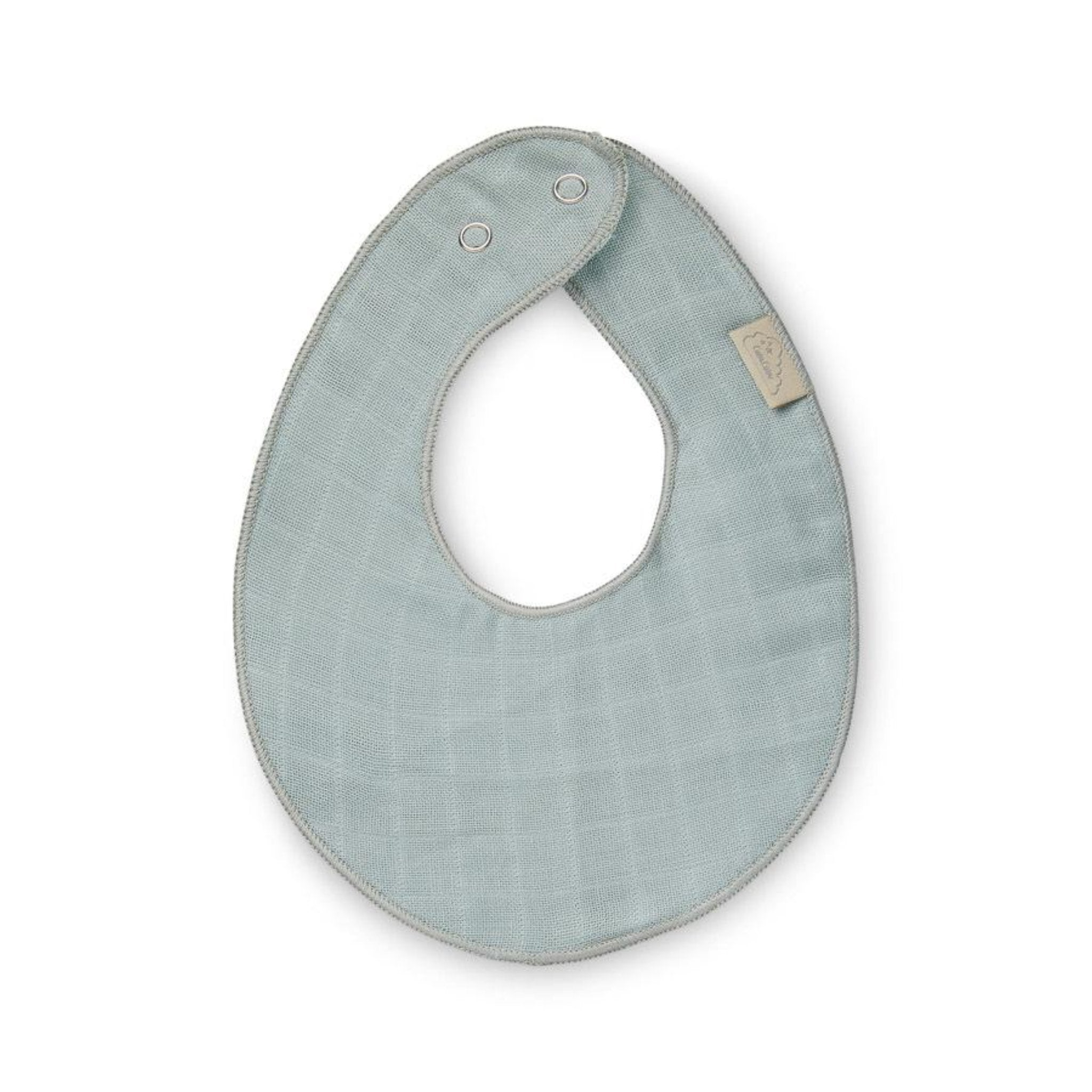 CAM CAM Teething Muslin Bib Petroleum