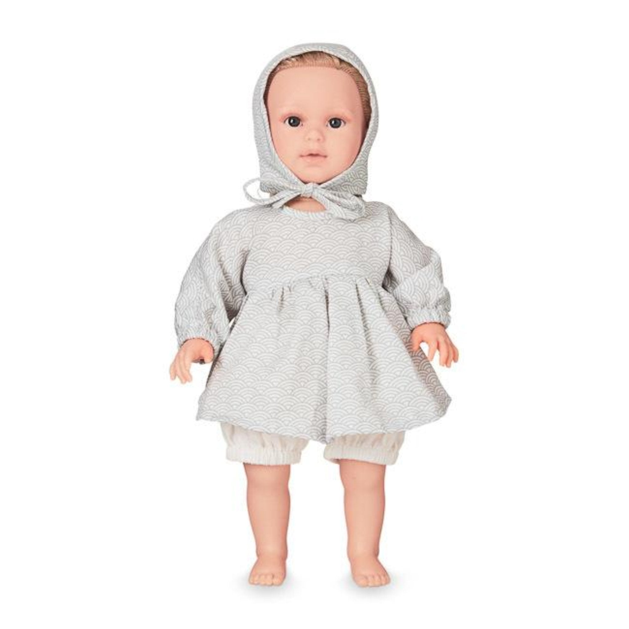 CAM CAM COPENHAGEN | Doll's Clothing Set & Bonnet | Grey Wave