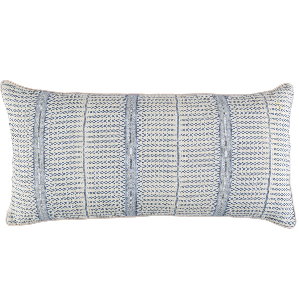 CAMOMILE LONDON  | Jaquard Triangle Cushion Cover