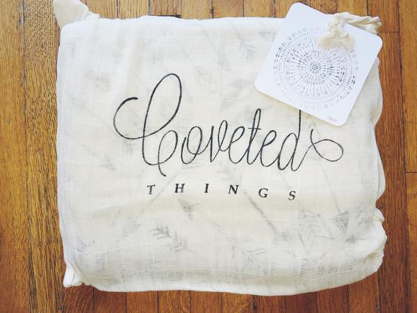 COVETED THINGS |  4 Layer Organic Cotton Happy Cloud Luxury Blanket| Faded Arrows