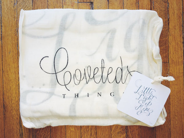 COVETED THINGS |  Organic Swaddle | May You Live