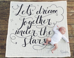 COVETED THINGS Dream Together Organic Swaddle