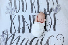 COVETED THINGS | Organic Swaddle | You're My Kind Of Magic