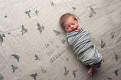 COVETED THINGS Birds Organic Swaddle