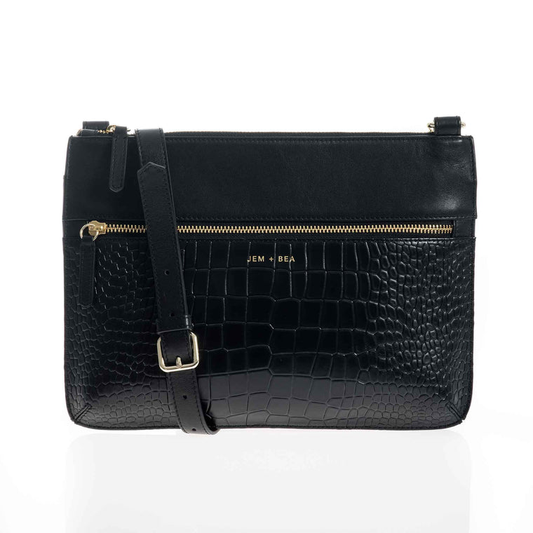 JEM + BEA Farah Minimal Changing Bag Black