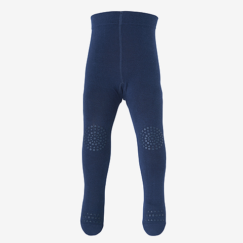 GOBABYGO Crawling Tights Petroleum Blue