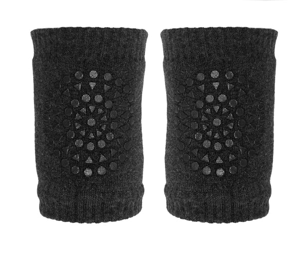 GOBABYGO Knee Pads Dark Grey Melange