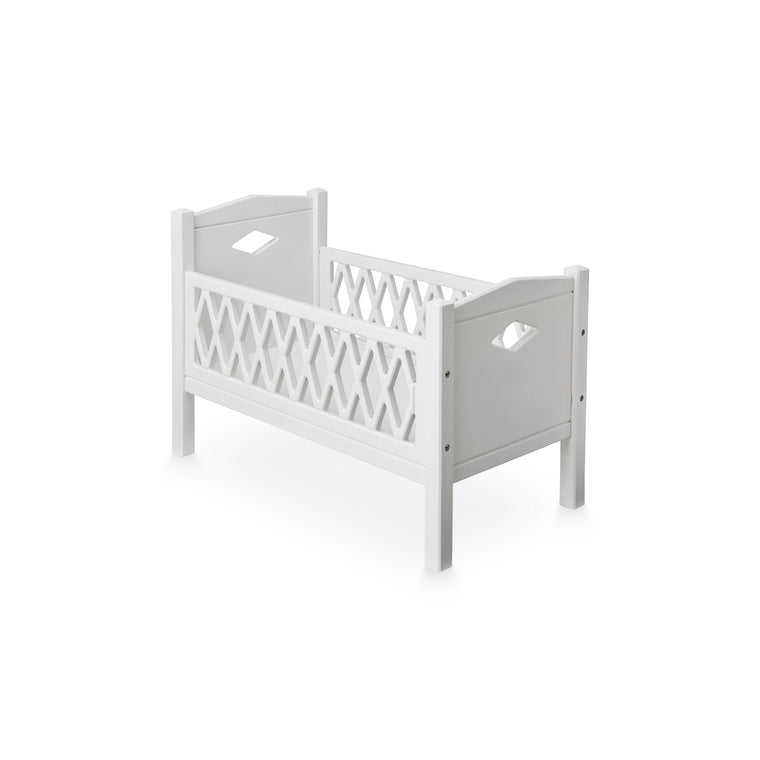 CAM CAM Harlequin Doll's Bed White