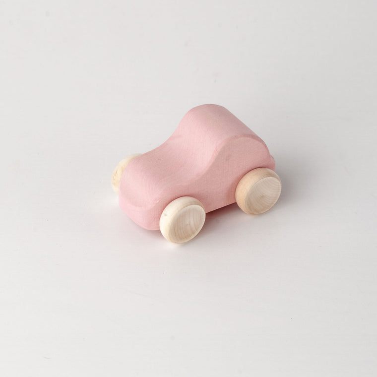 RADUGA GRËZ  | Wooden Toy Car | Pink