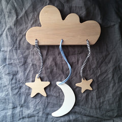 PINCH TOYS Wooden Cloud Mobile