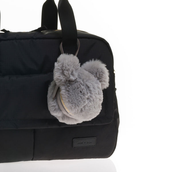 JEM + BEA Dummy Bear Bag Grey