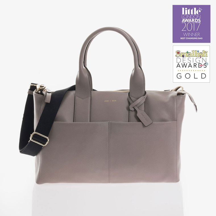 JEM + BEA Jemima Changing Bag  Grey