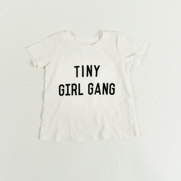 JEAN & JUNE Tiny Girl Gang Organic Tee
