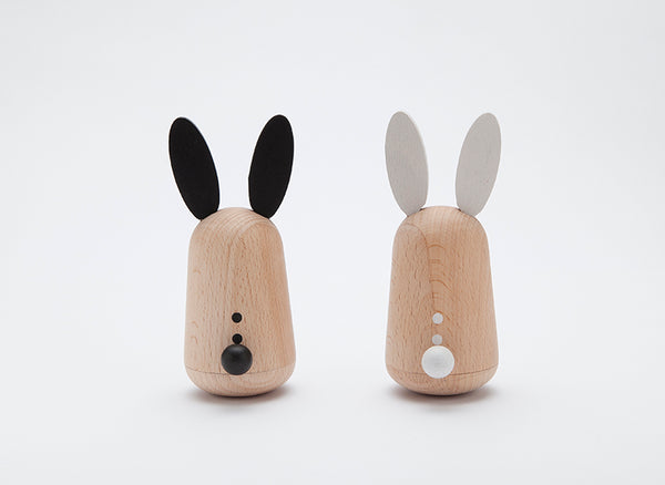 KIKO+ Usagi Rabbit Rattles SET OF 2
