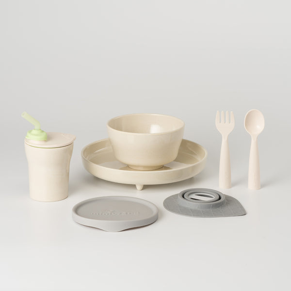 MINIWARE By BONNSU | Little Foodies Set | Natural Bamboo