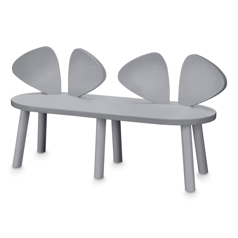 NOFRED Mouse Chair Bench Grey
