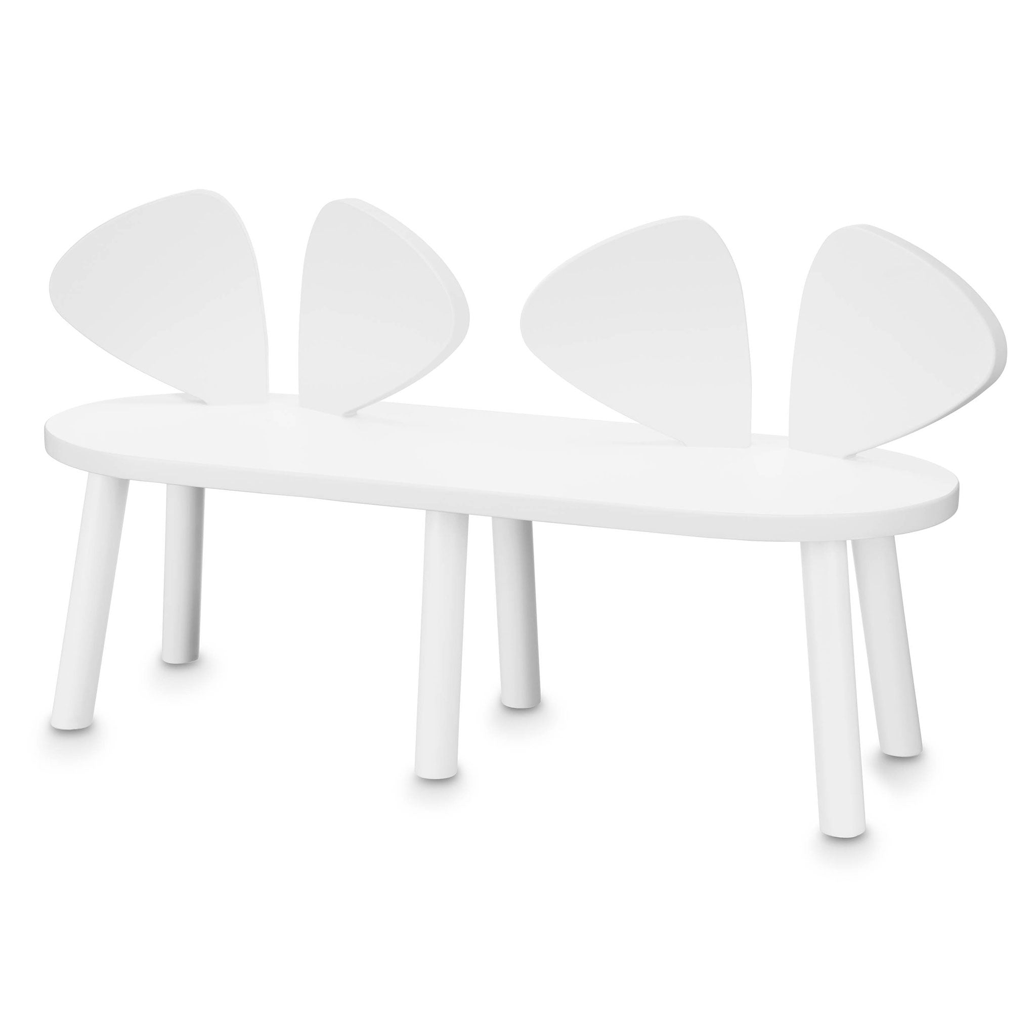 NOFRED Mouse Chair Bench White