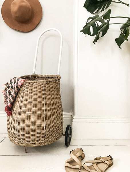 OLLI ELLA | Large Luggy Basket | Natural