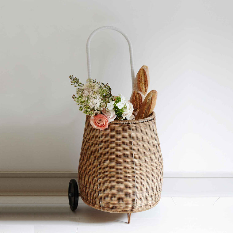 OLLI ELLA Large Luggy Basket Natural