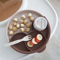 MINIWARE By BONNSU Smart Divider Set Sandy Stone & Chocolate